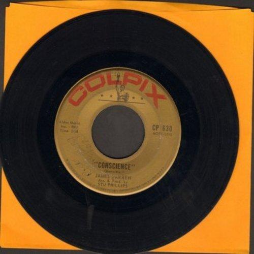 Darren, James - Conscience/Dream Big (wol) - VG7/ - 45 rpm Records