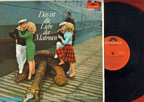 Die Blauen Jungs - Das ist die Liebe der Matrosen: Das kann doch einen Seemann nicht erschuttern, La Paloma, Auf der Reeperbahn nachts um halb eins (vinyl STEREO LP record, German Pressing, sung in German) - NM9/NM9 - LP Records