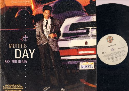 Day, Morris - Are You Ready/Yo' Luv (Vinyl Maxi Record) - EX8/EX8 - Maxi Singles