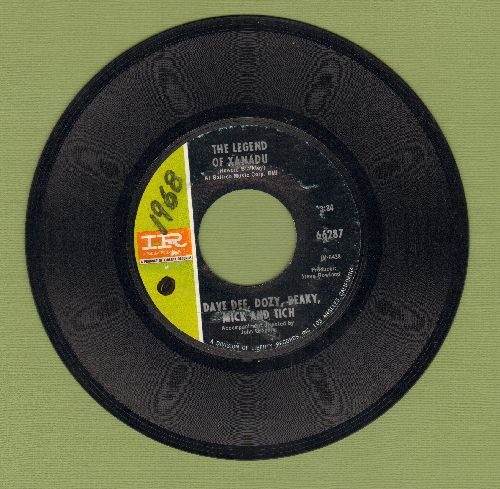 Dee, Dave, Dozy, Beaky Mick & Tich - The Legend Of Xanadu/Please (wol) - EX8/ - 45 rpm Records