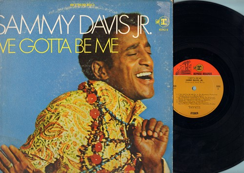 Davis, Sammy Jr. - I've Gotta Be Me: My Personal Property, If My Friends Could See Me Now, I've Got You Under My Skin (vinyl STEREO LP record) - EX8/VG6 - LP Records