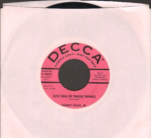 Davis, Sammy Jr. - Just One Of Those Things/Earthbound (DJ adance pressing) - VG7/ - 45 rpm Records