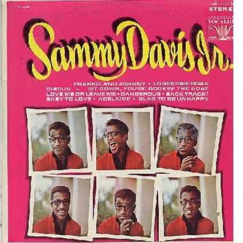 Davis, Sammy Jr. - Sammy Davis Jr.: Love Me Or Leave Me, Lonesome Road, Frankie And Johnny, Circus, Adelaide (vinyl STEREO LP record) - M10/EX8 - LP Records