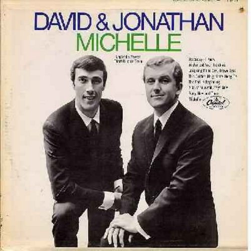 David & Jonathan - Michelle: Yesterday, Let's Hang On, A Must To Avoid, Every Now And Then (vinyl MONO LP record) - NM9/EX8 - LP Records