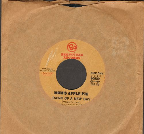 Mom's Apple Pie - Dawn Of A New Day/Happy Just To Be (minor wol) - EX8/ - 45 rpm Records