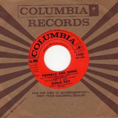 Day, Doris - Twinkle And Shine/Gotta Feelin' (with Columbia company sleeve, minor wol) - NM9/ - 45 rpm Records