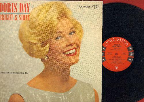 Day, Doris - Bright And Shiny: I Want To Be Happy, Singin' In The Rain, Happy Talk, Make Someone Happy (vinyl MONO LP record, red label, 6 eyes) - NM9/EX8 - LP Records