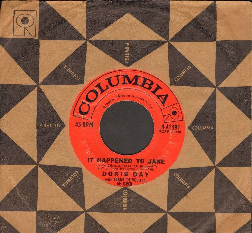 Day, Doris - It Happened To Jane/Be Prepared (with Columbia company sleeve) - VG7/ - 45 rpm Records