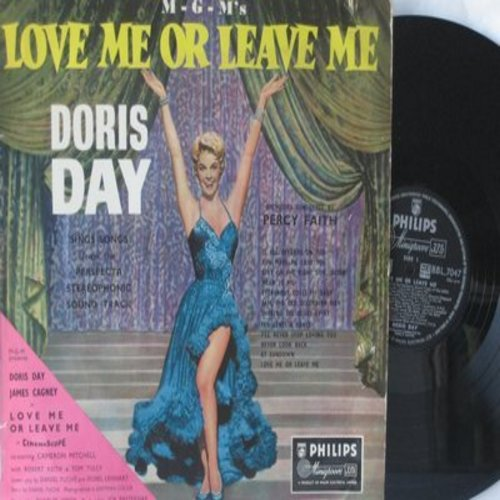 Day, Doris - Love Me Or Leave Me - Doris Day sings songs from the Original Motion Picture Sound Track (vinyl MONO LP record, British Pressing) - EX8/EX8 - LP Records