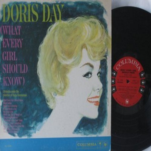 Day, Doris - What Every Girl Should Know: Something Wonderful, A Hundred Years From Today, You Can't Have Everything, What Does A Woman Do, The Everlasting Arms (vinyl MONO LP record) - EX8/EX8 - LP Records
