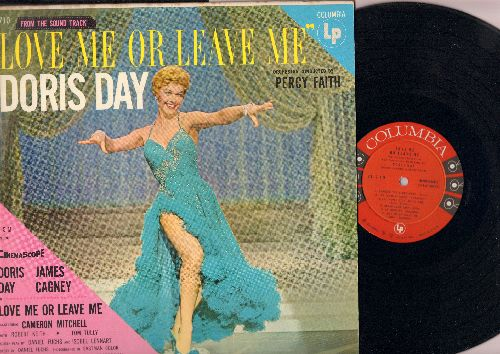 Day, Doris - Love Me Or Leave Me: You Made Me Love You, I'll Never Stop Loving You, Ten Cents A Dance, Sam The Old Accordion Man, Everybody Loves My Baby (vinyl MONO LP record, NICE condition!) - EX8/VG6 - LP Records