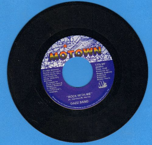 Dazz Band - Rock With Me/Heartbeat - NM9/ - 45 rpm Records
