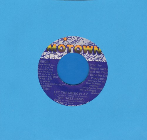 Dazz Band - Let The Music Play/Hello Girl - EX8/ - 45 rpm Records