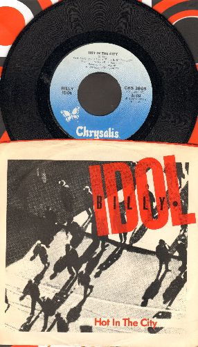 Idol, Billy - Hot In The City/Hole In The Wall (with picture sleeve) - NM9/EX8 - 45 rpm Records