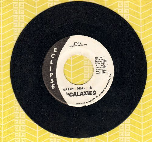 Deal, Harry & The Galaxies - Stay (FANTASTIC updated version of the Maurice Williams Hit!)/Miss Grace - NM9/ - 45 rpm Records