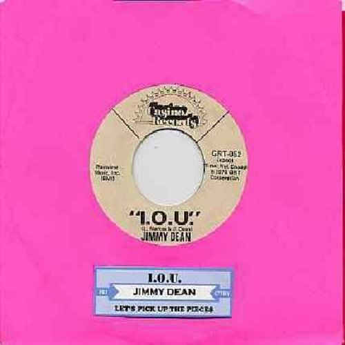 Dean, Jimmy - I.O.U. (TRIBUTE TO MOM -- TEAR JERKER!)/Let's Pick Up The Pieces (And Start Over Again) (with juke box label) - NM9/ - 45 rpm Records