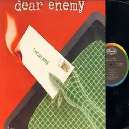 Dear Enemy - Ransom Note: Computer One, All Through The Night, Kids On The Street, Day To Day, On The Line (vinyl STEREO LP record) - NM9/EX8 - LP Records