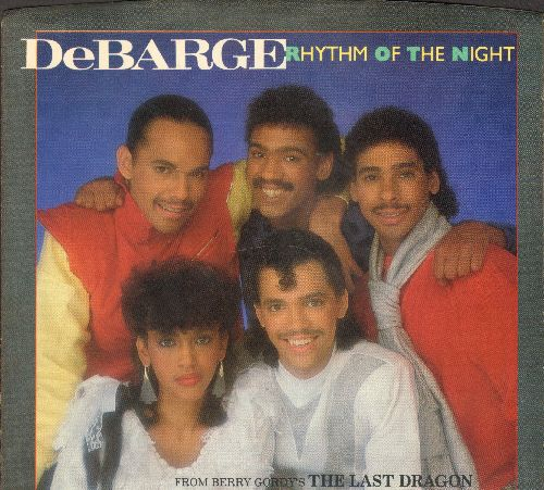 DeBarge - Rhythm Of The Night/Queen Of My Heart - NM9/NM9 - 45 rpm Records