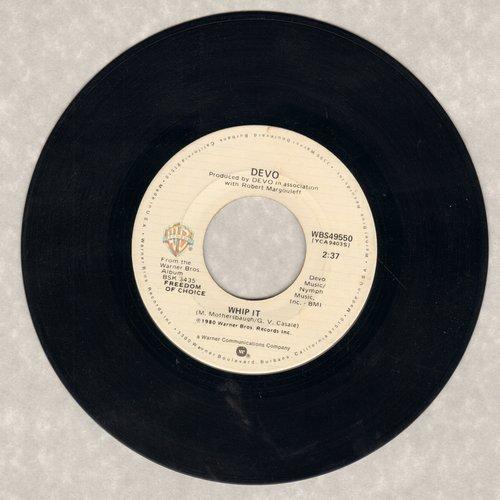 Devo - Whip It/Turn Around - EX8/ - 45 rpm Records