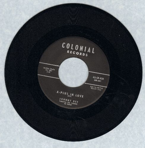 Dee, Johnny - A-Plus In Love/Sittin' In The Balcony - VG7/ - 45 rpm Records
