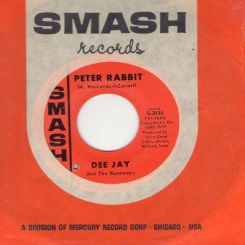 Dee Jay & The Runaways - Are You Ready (FANTASTIC Bubblegum Sound!)/Peter Rabbit (with Smash company sleeve) (bb) - NM9/ - 45 rpm Records