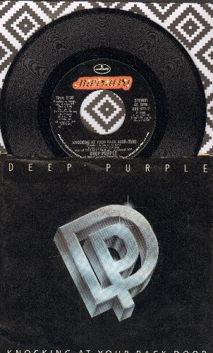 Deep Purple - Knocking At Your Back Door (with picture sleeve) - NM9/EX8 - 45 rpm Records