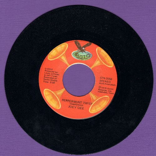 Dee, Joey - Shout/Peppermint Twist (double-hit re-issue) - NM9/ - 45 rpm Records
