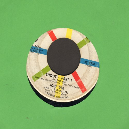 Dee, Joey & The Starliters - Shout (Parts 1+2) (wol) - G5/ - 45 rpm Records