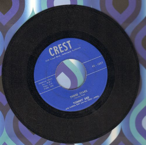 Dee, Tommy & Carol Kay & Teen Aires - Three Stars (Tribute to Buddy Holly, Ritchie Valens and The Big Bopper)/I'll Never Change (NICE condition!) - NM9/ - 45 rpm Records