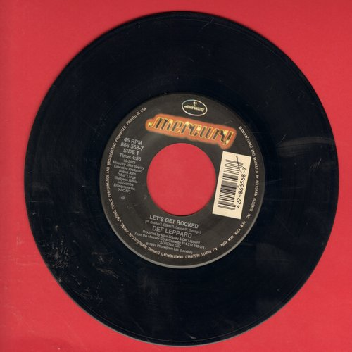 Def Leppard - Let's Get Rocked/Only After Dark - NM9/ - 45 rpm Records