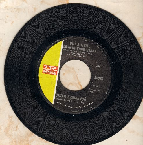 DeShannon, Jackie - Put A Little Love In Your Heart/Always Together  - VG7/ - 45 rpm Records