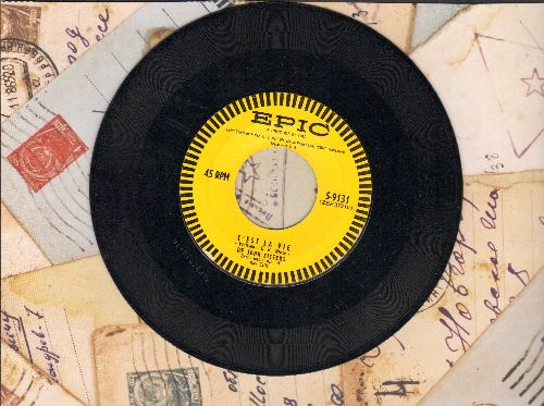 De John Sisters - Uninvited Love/C'est La Vie - EX8/ - 45 rpm Records