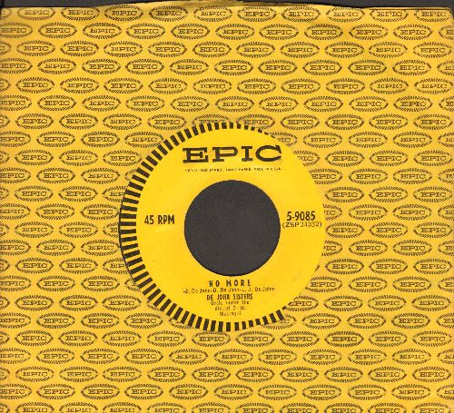De John Sisters - Theresa (The Little Flower)/No More (with Epic company sleeve) - EX8/ - 45 rpm Records