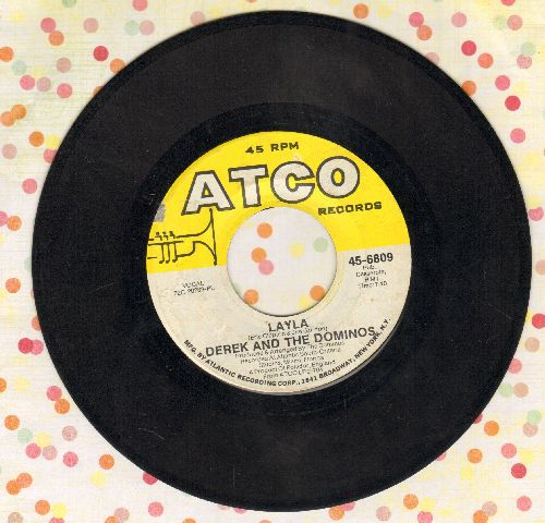 Derek & The Dominos - Layla/I Am Yours - EX8/ - 45 rpm Records