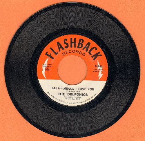 Delfonics - La-La-Means I love You/Can't Get Over Losing You (double-hit re-issue) - NM9/ - 45 rpm Records