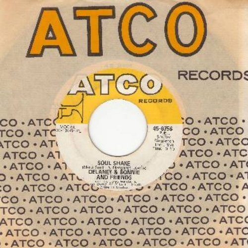 Delaney & Bonnie & Friends - Sould Shake/Free The People (with Atco company sleeve) - NM9/ - 45 rpm Records