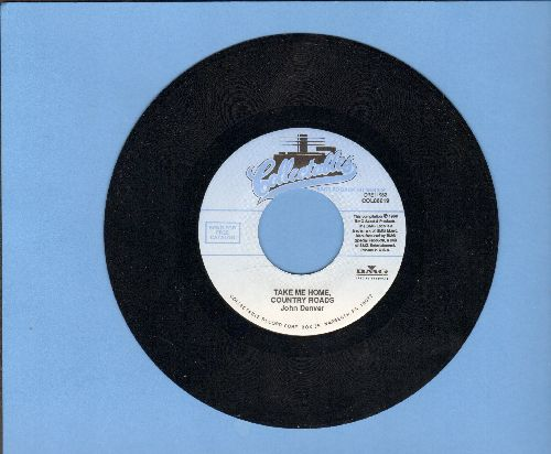 Denver, John - Take Me Home, Country Roads/Poems, Prayers & Promises (re-issue) - NM9/ - 45 rpm Records