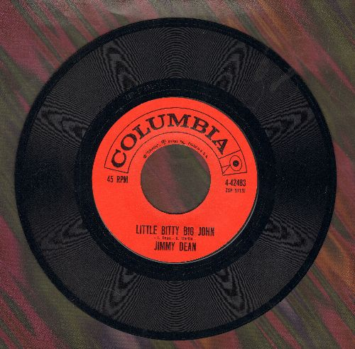 Dean, Jimmy - Little Bitty Big John/Steel Men  - VG7/ - 45 rpm Records