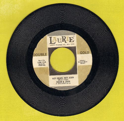 Dean & Jean - Hey Dean, Hey Jean/Tra La La La Lucy (double-hit re-issue) - NM9/ - 45 rpm Records