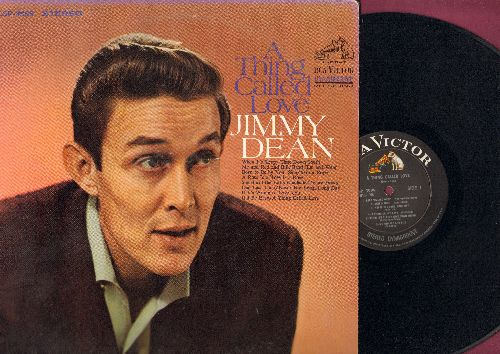 Dean, Jimmy - A Thing Called Love: When It's Sleepy Time Down South, If It's Wrong To Love You, Read 'Em And Weep (vinyl STEREO LP record) - NM9/EX8 - LP Records