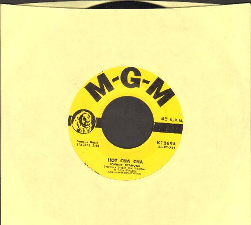 Desmond, Johnny - Hot Cha Cha/I'll Close My Eyes - NM9/ - 45 rpm Records