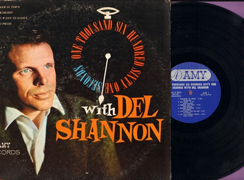 Shannon, Del - One Thousand Six Hundred Sixty One Seconds With Del Shannon: Needles And Pins, Do You Wanna Dance, I Go To Pieces, Rag Doll, I'm Gonna Be Strong (vinyl MONO LP record) - EX8/VG7 - LP Records