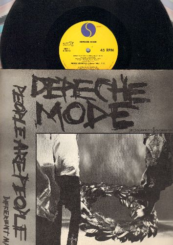 Depeche Mode - People Are People (7:19 Different Mix)/People Are People (7:30 ON Usound)/In Your Memory (4:00 Slik Mix Edit) (12 inch 45rpm Maxi Single with picture cover) - NM9/EX8 - Maxi Singles