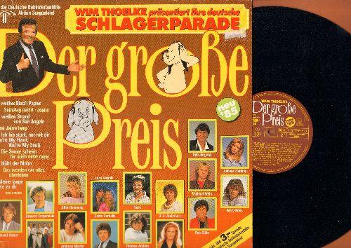 Der grosse Preis - Der grosse Preis - Wim Thoelke: Juliane Werding, Roland Kaiser, Nicki, Udo Jurgens, Gitte, more (vinyl STEREO LP record, German Pressing, sung in German) - NM9/NM9 - LP Records