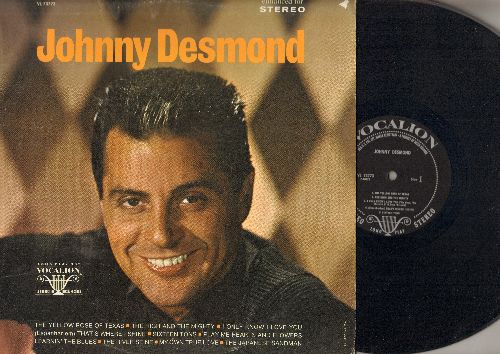 Desmond, Johnny - Johnny Desmond: The High And Thye Mighty, Sixteen Tons, The Japanese Sandman, The River Saine (vinyl STEREO LP record) - NM9/VG7 - LP Records