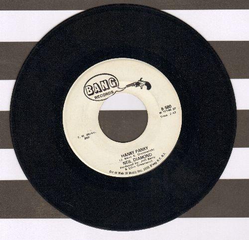 Diamond, Neil - Hanky Panky/Do It! (DJ advance pressing) (sol) - EX8/ - 45 rpm Records