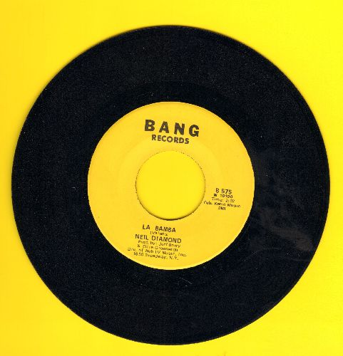 Diamond, Neil - Shilo/La Bamba - EX8/ - 45 rpm Records