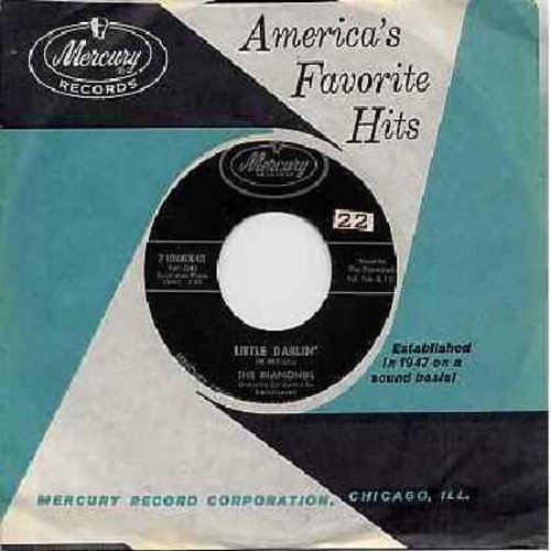 Diamonds - Little Darlin'/Faithful And True (with Mercury company sleeve) - VG7/ - 45 rpm Records