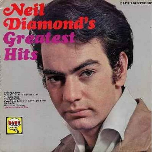 Diamond, Neil - Neil Diamond's Greatest Hits: Cherry Cherry, New Orleans, Red Red Wine, Hanky Panky, Solitary man, Do It, Girl You'll Be A Woman Soon (vinyl STEREO LP record) - VG7/VG6 - LP Records