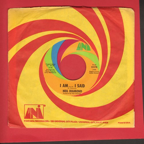Diamond, Neil - I Am…I Said/Done Too Soon - NM9/ - 45 rpm Records